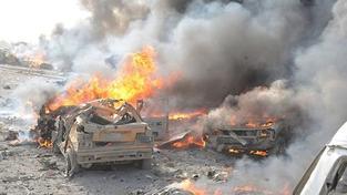 Syrští vojáci vypálili celou vesnici. Sedm mrtvých