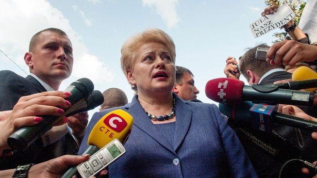 Litevská prezidentka navštívila Tymošenkovou v nemocnici