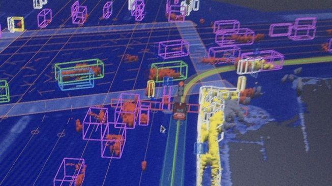 Jak vidí silniční provoz auto bez řidiče? Zdroj: Profimedia.cz