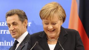 Zachrání nové duo Merklová-Hollande Evropu? Názory se různí