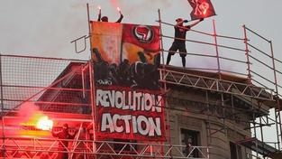 V Berlíně bylo při prvomájových výtržnostech zadrženo 119 lidí