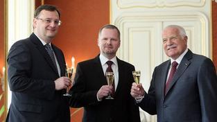 Klaus jmenoval Petra Fialu ministrem školství