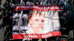 Ukrajina kvůli Tymošenkové čelí bojkotu Eura i summitu na Krymu
