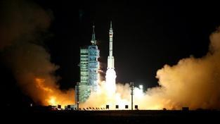 V Kazachstánu úspěšně přistál Sojuz se třemi kosmonauty