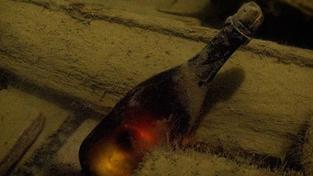 Finové vyzvedli z moře nejstarší šampaňské na světě!
