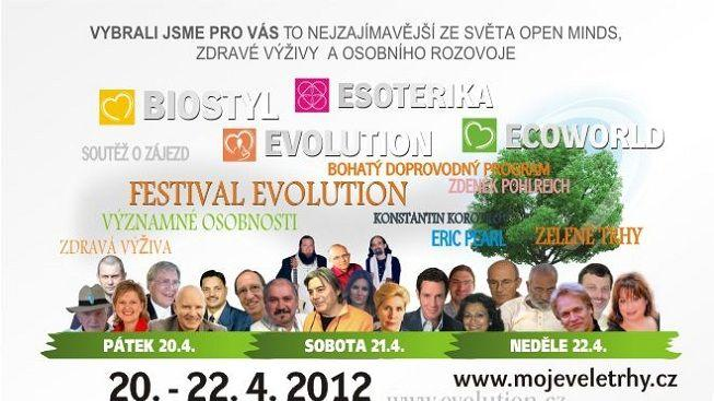 Veletrh EVOLUTION se dnes otevřel veřejnosti