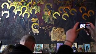 Pravoslavný kostel v Skopje hlásí zázrak, ikony se prý rozjasňují
