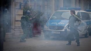 Demonstrace proti kapitalismu ve Frankfurtu: 465 lidí zatčeno
