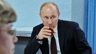 Putin podle očekávání vyhrál prezidentské volby v prvním kole