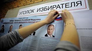 Ruské prezidentské volby v plném proudu: Vyhraje Putin už v prvním kole?