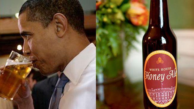 Obama zveřejnil vlastní recept na pivo. Vaří ho v Bílém domě