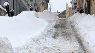 Sněhová kalamita ustává, situace se zlepšuje