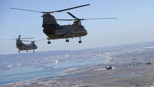 Stíhačky musely ochránit Obamův vrtulník