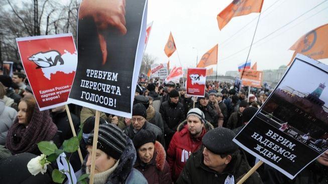 Demonstrovat proti režimu se v Moskvě stalo módou