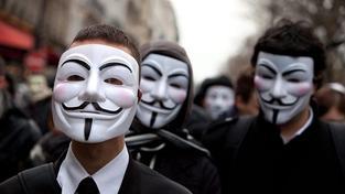 Povzbuzení Anonymous zvažují další velký útok na švédské instituce