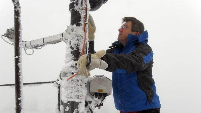 Amatérský meteorolog sní o naměření teplotního rekordu