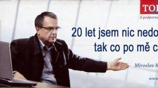 Stydím se za vládu ČR a chci její demisi, hlásají stránky na facebooku