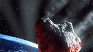 Astronomové uklidňují veřejnost: Nově objevený asteroid mine naši planetu
