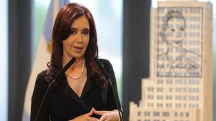 Argentinské prezidentce byl odoperován zhoubný nádor