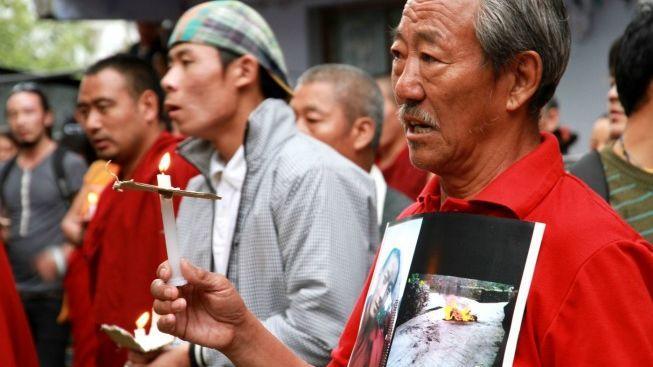 V Číně se upálil další Tibeťan, letos už čtyřicátý první