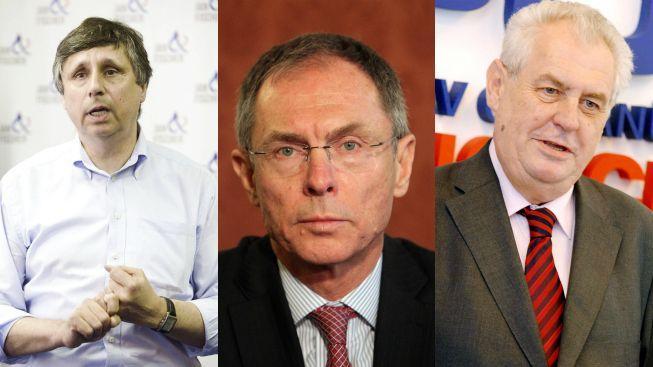 Zeman se přibližuje Fischerovi v prezidentské volbě, Švejnar je stále třetí