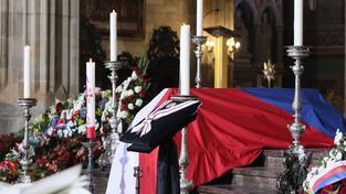 Václav Havel naposledy opustil Pražský hrad