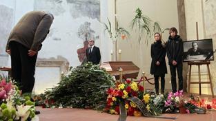 Ostatky Václava Havla už jsou ve svatovítské katedrále
