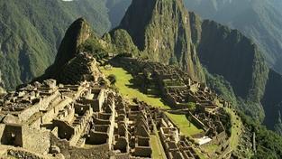 Ruiny inckého města v peruánských Andách aneb tajemný skvost jménem Machu Picchu