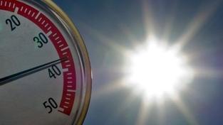 Dnešek byl opět ve znamení teplotních rekordů