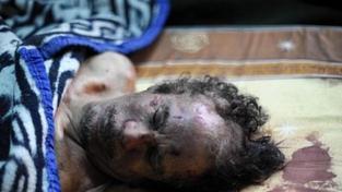 Kaddáfího pohřbili na tajném místě v poušti