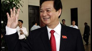 Vietnamský premiér.