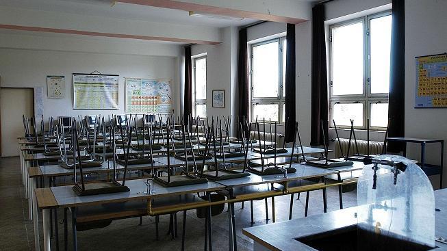 Prázdná třída (ilustrační foto).