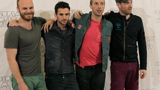Skupina Coldplay.