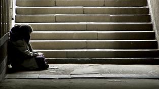 Bezdomovec.