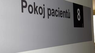 Pokoj pacientů.