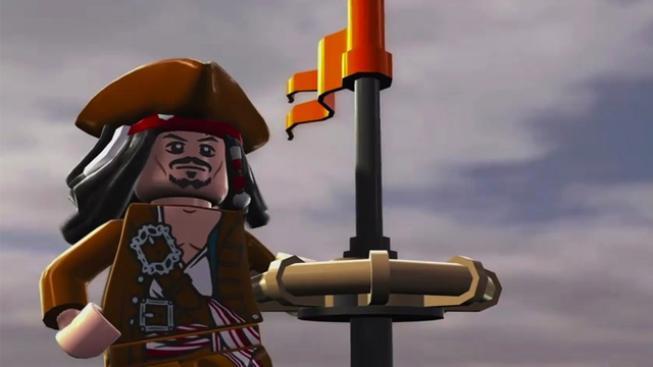 Lego, pirát.