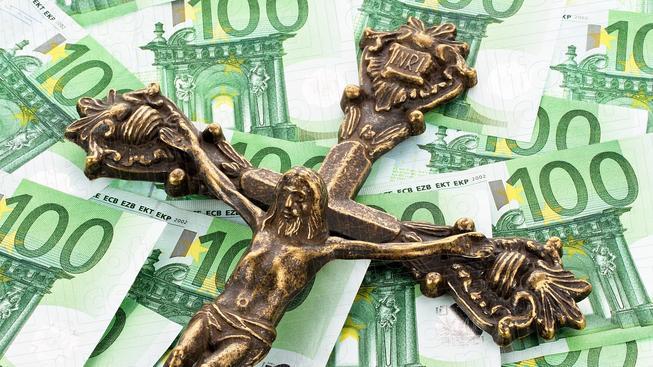 Církevní daň v Německu (ilustrační foto).