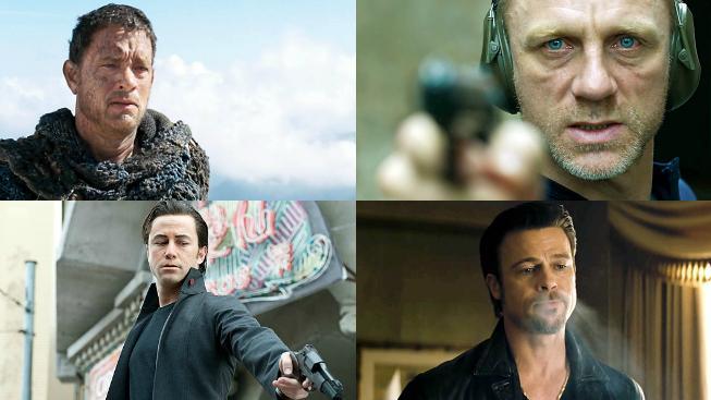 Tom Hanks, Daniel Craig, Joseph G. Levitt, Brad Pitt
