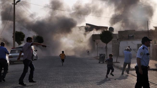 Syrská bomba dopadla na Turecko.