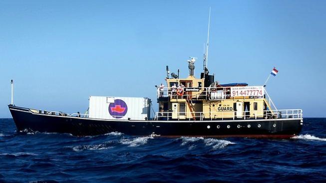 """Holandská """"potratová loď""""."""