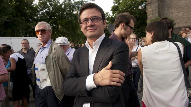 Předseda SZ Ondřej Liška