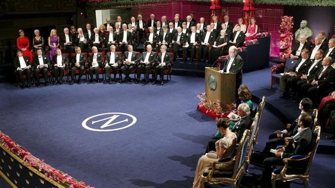 Předávání Nobelové ceny