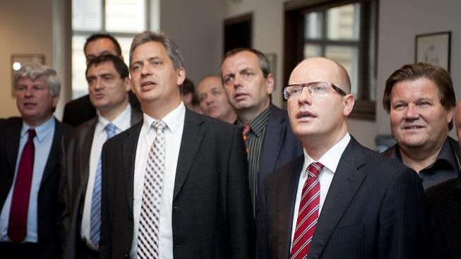 Představitelé ČSSD čekají na výsledky