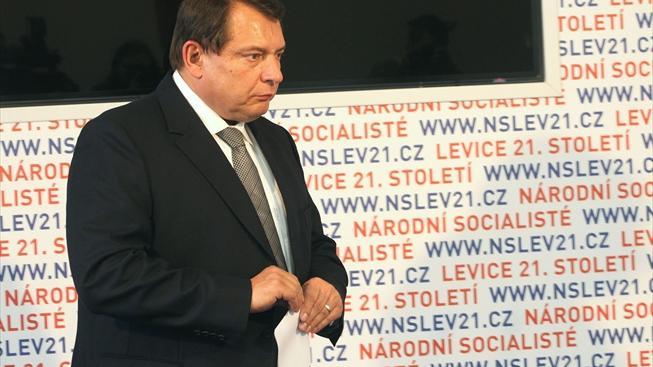 Jiří Paroubek po volebním debaklu.