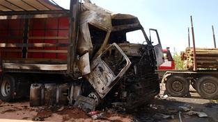 Nehoda kamionu (ilustrační foto)