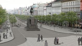 Václavské náměstí po změně.