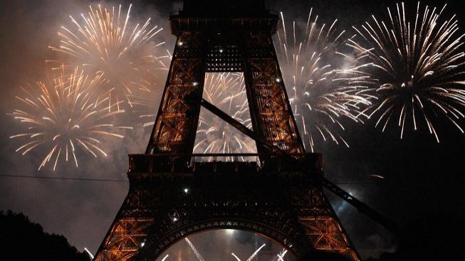 Paříž na Nový rok