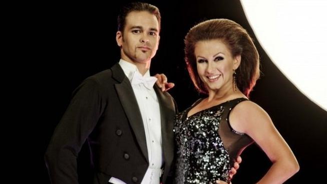 Dana Morávková s tanečním partnerem