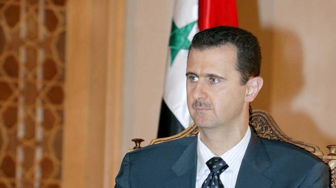 Bashar al-Asad.