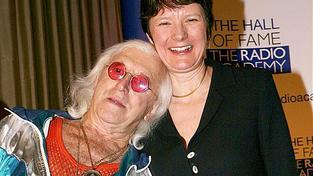 Jimmy Saville a Helen Boaden z BBC.